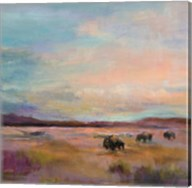 Buffalo Under Big Sky Fine-Art Print