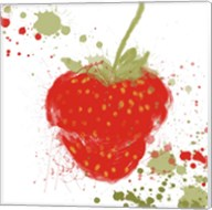 Modern Strawberry Fine-Art Print