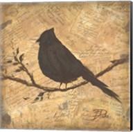 Bird Silhouette II Fine-Art Print