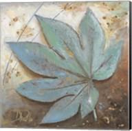 Turquoise Leaf I Fine-Art Print