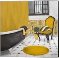 Sundance Bath I (yellow) Fine-Art Print