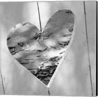 B&W Heart Full of Love Fine-Art Print