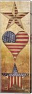 America Stars I Fine-Art Print