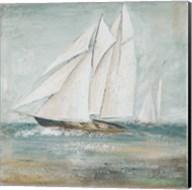 Cape Cod Sailboat I Fine-Art Print