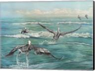 Pelican Beach Fine-Art Print