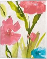Blue and Pink le Povat  II Fine-Art Print