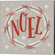 Christmas Wreaths II Fine-Art Print