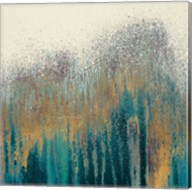 Teal Woods with Gold Fine-Art Print