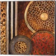 African Circles I Fine-Art Print