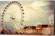 London Ferris Wheel Fine-Art Print