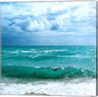 Teal Surf II Fine-Art Print