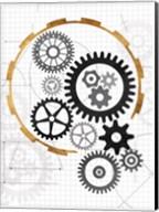 Cog Blueprints Fine-Art Print