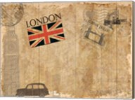 Post Card London Fine-Art Print