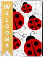 Welcome Ladybug Fine-Art Print