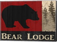Bear Lodge Fine-Art Print