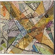 Modern Map of D.C. Fine-Art Print