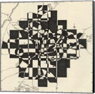 Modern Map of Atlanta Fine-Art Print
