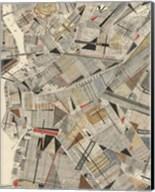 Modern Map of Brooklyn Fine-Art Print