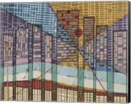 Modern Map of Detroit Fine-Art Print