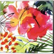 Jungle Hibiscus I Fine-Art Print