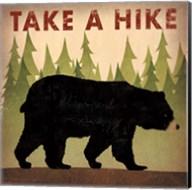 Take a Hike Black Bear Fine-Art Print
