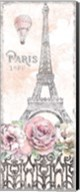Paris Roses Panel VIII Fine-Art Print