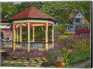 Gazebo At Chautauqua Fine-Art Print