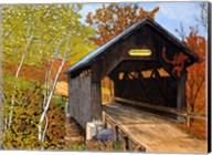 Covered Bridge Waterbury Vt Fine-Art Print