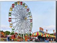 Ferris Wheel Erie County Fair, Hamburg Ny Fine-Art Print