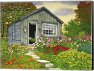 Flower Shed II, Arlington Vt Fine-Art Print