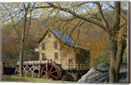 Glade Creek Grist Mill I Beckley, Wv Fine-Art Print