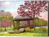 Green Lake Gazebo, Orchard Park, Ny Fine-Art Print