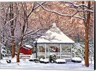 Morgan's Gazebo, Hamburg Ny Fine-Art Print