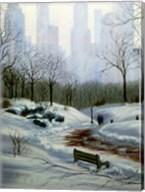 Winter in the Park Fine-Art Print