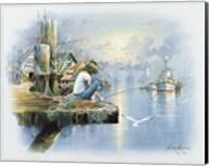 Fishing Dock D Fine-Art Print