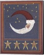 3 Half Moon Santa Fine-Art Print