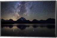 Jackson Lake Milky Way Fine-Art Print
