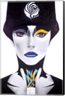 Blue Lip Fine-Art Print