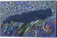 Petroglyph Sperm Whale Fine-Art Print