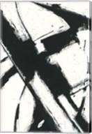 Expression Abstract I White Fine-Art Print