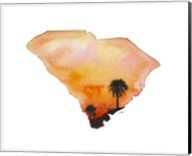 South Carolina State Watercolor Fine-Art Print
