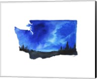Washington State Watercolor Fine-Art Print