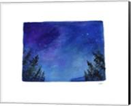 Colorado State Watercolor Fine-Art Print