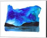 Oregon State Watercolor Fine-Art Print