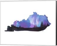 Kentucky State Watercolor Fine-Art Print