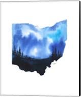 Ohio State Watercolor Fine-Art Print