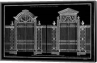 Neufforge Gate Blueprint II Fine-Art Print