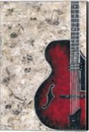Symphony in Guitar Fine-Art Print