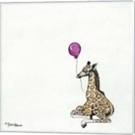 Nursery Giraffe Fine-Art Print