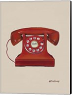 Phone with a Cord Fine-Art Print